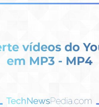 Converte vídeos do YouTube em MP3 - MP4