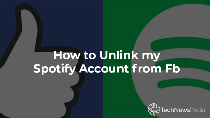 how to unlink spotify from facebook