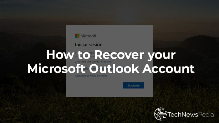 Recover Outlook Account