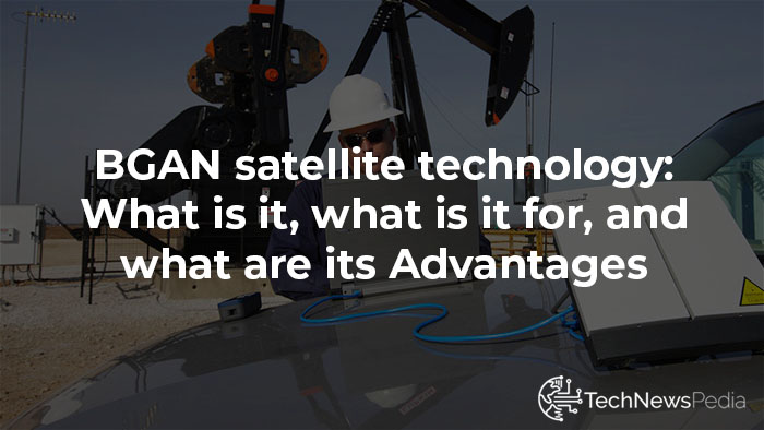 What is BGAN satellite technology