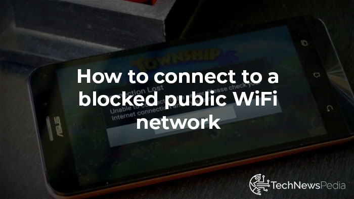 connect to a blocked WiFi