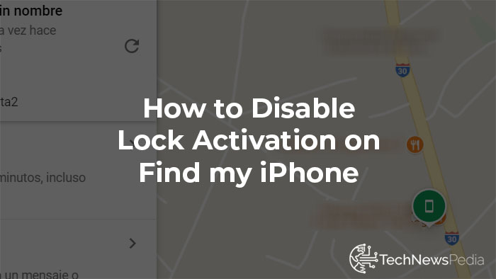 disable lock my iphone