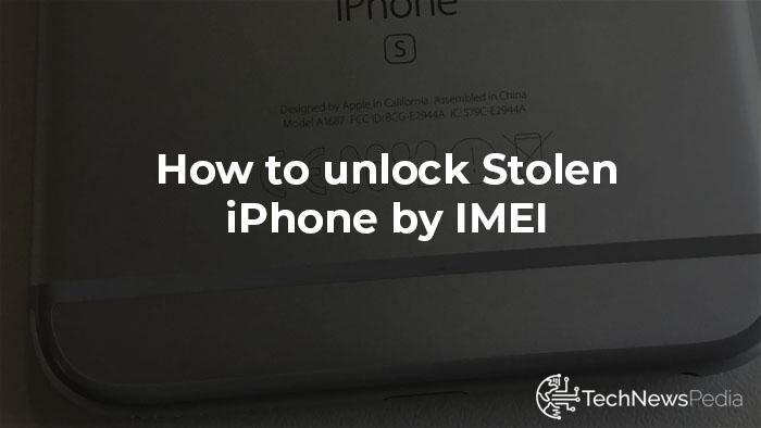 How to unlock a stolen iPhone…