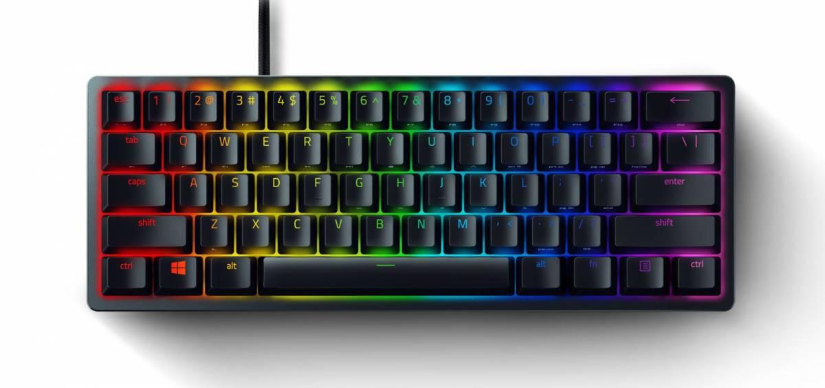 Razer Huntsman Mini: this is the new 60% format keyboard