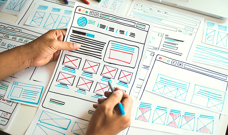how to create a wireframe