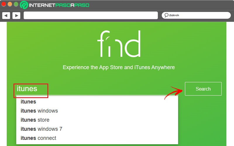Find iOS apps in FND
