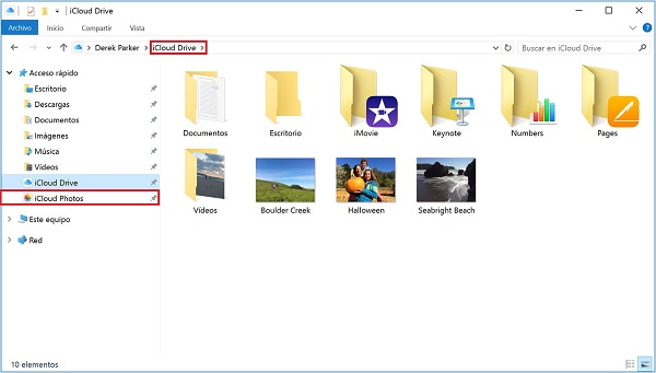 download icloud files from windows
