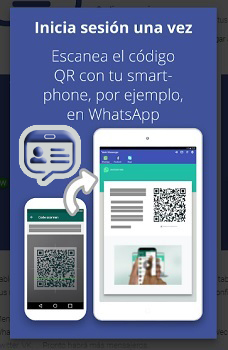 Use WhatsApp with TabletMessenger