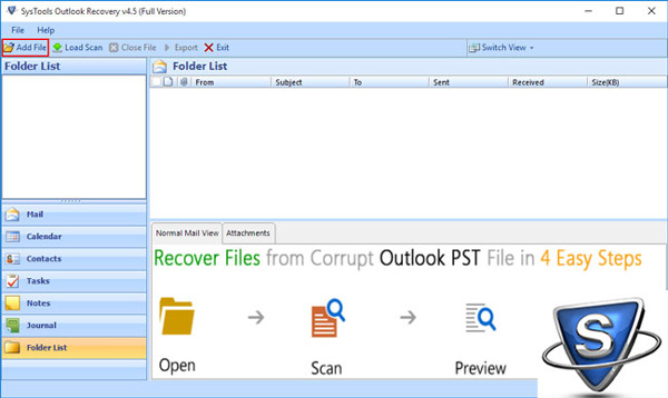 Systools Outlook