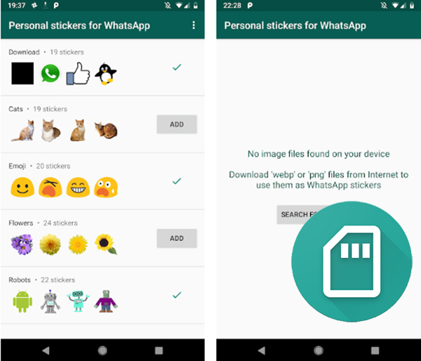 It's time to install the stickers on WhatsApp