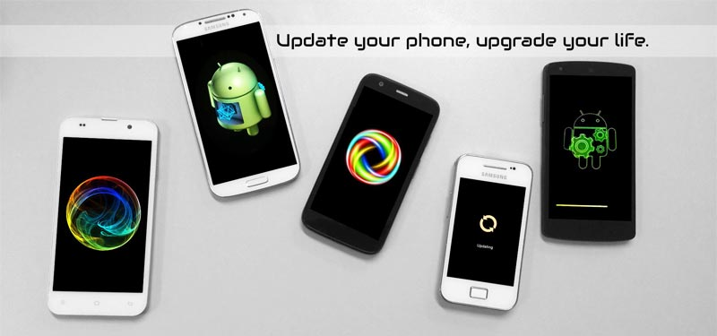 Ways and methods to update Android according to brand and model