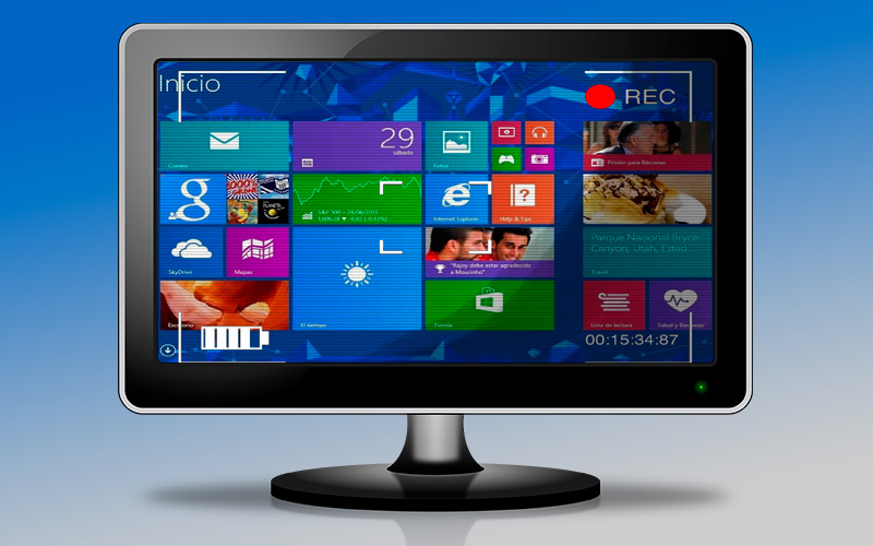 List of the best programs to film Windows 8 screen