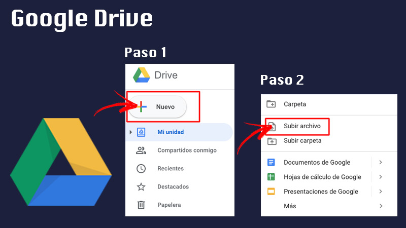 Share large files with Google Drive