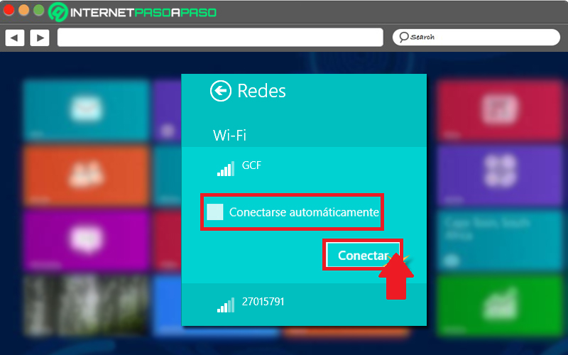 Learn step by step how to connect to a WiFi network in Windows 8