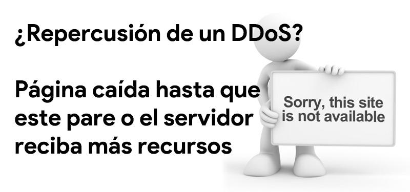 ddos attack on web