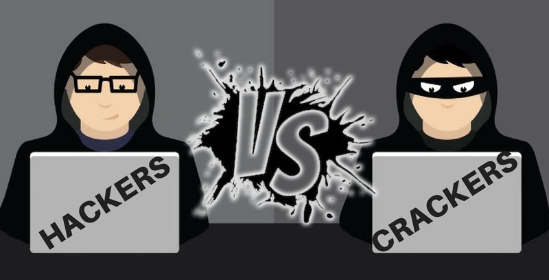 differences between a hacker and a cracker