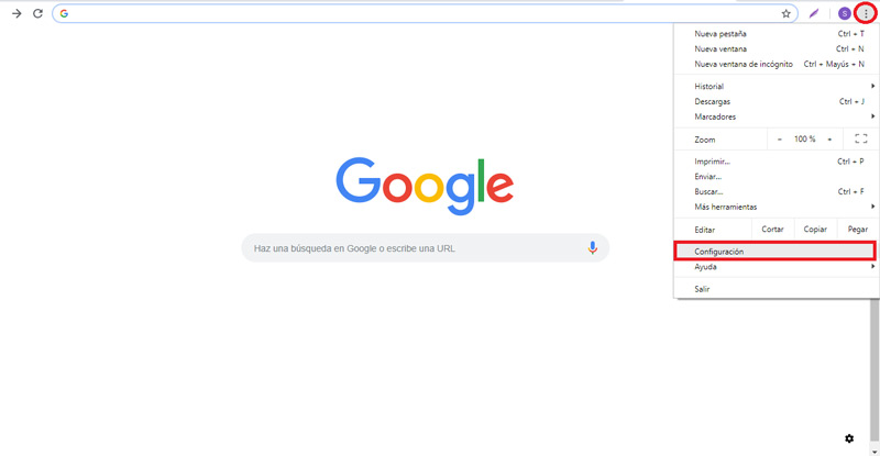 Enable safe search on Google