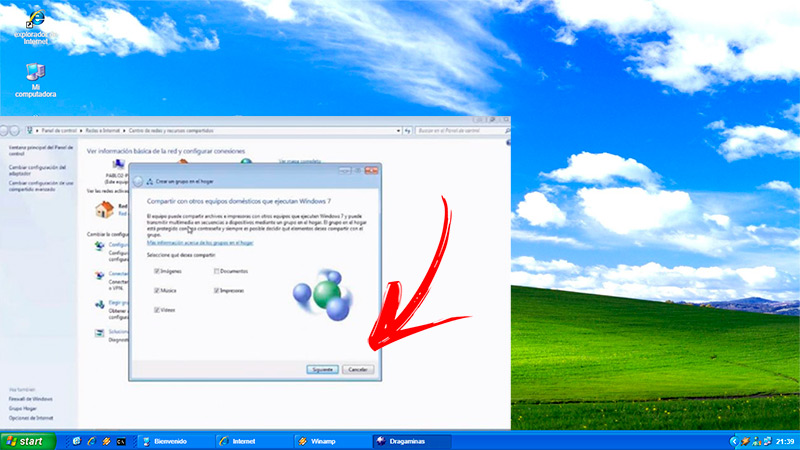 Learn step by step how to set up a Home Group in Windows 7 from scratch