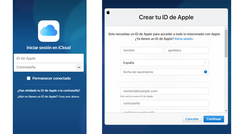 How to register create new iCloud account from PC
