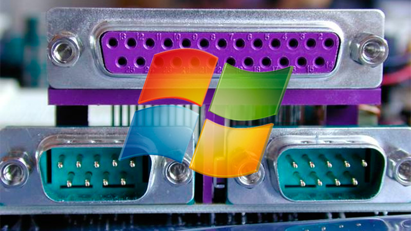 What are all the Windows 7 input ports and what devices can be used on them?