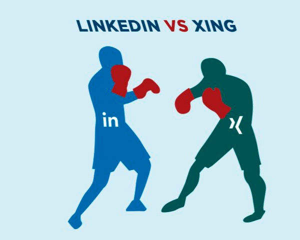 Xing vs LinkedIn, which is better and how are they different?