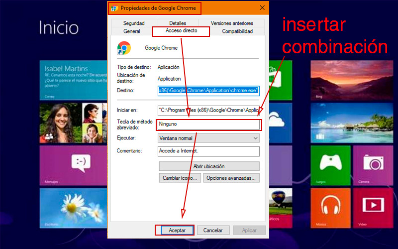Learn step by step how to customize your keyboard shortcuts in Windows 8