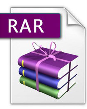 what does the extension rar mean