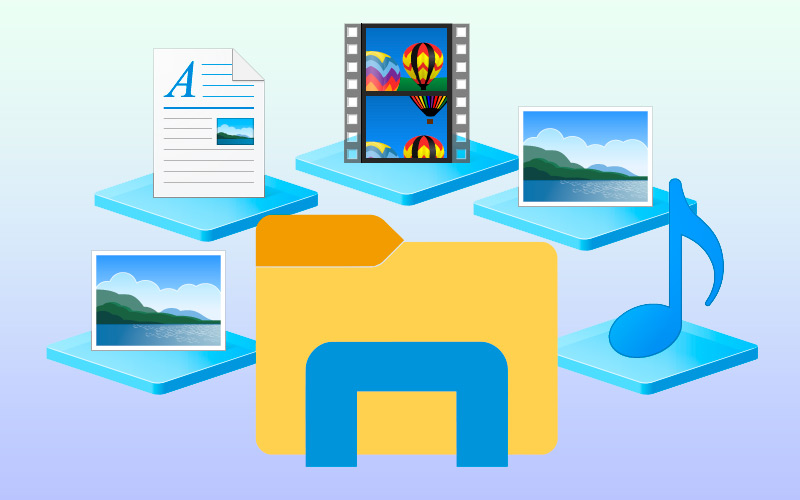 What is the W10 File Library and what kinds of documents are stored in it?