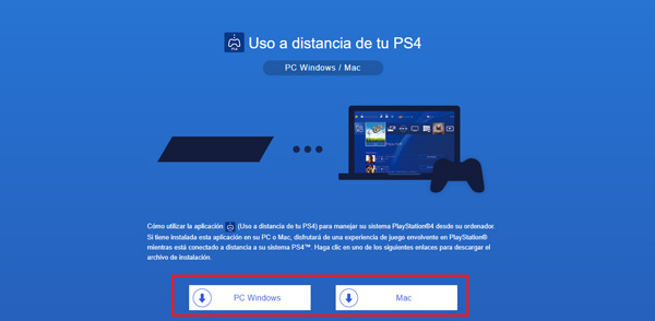 Remote play of your PS4