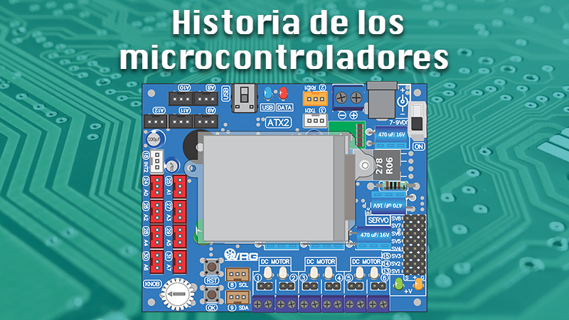 History of microcontrollers When were they created and what impact did they generate?