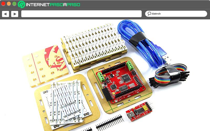 Keyestudio KS-177 Colorduino Arduino 4 x 4 x 4 RGB LED Cube Kit