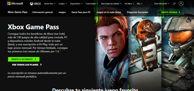 Get the Xbox Game Pass Ultimate plan