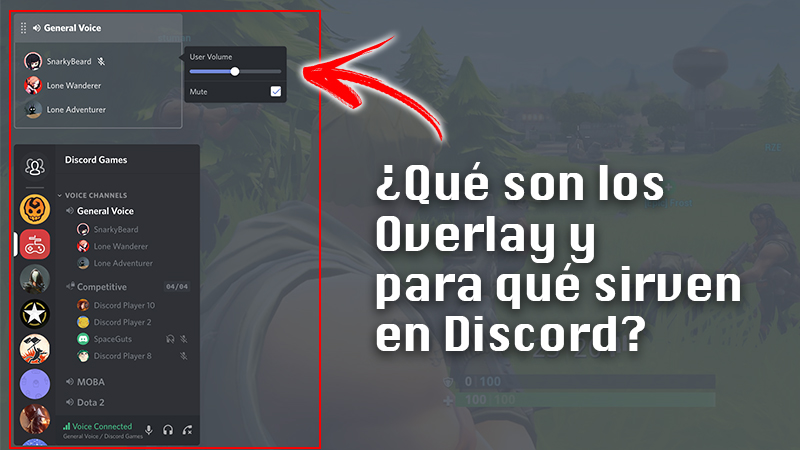 What are Overlay and what are they for on Discord?