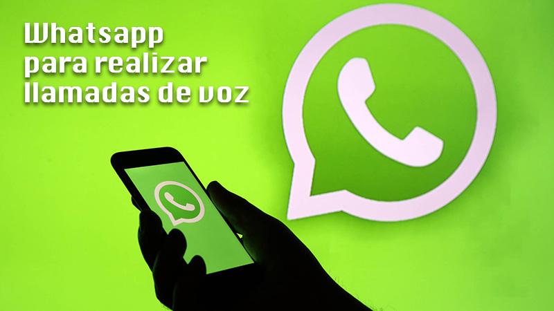 Whatsapp to make voice calls