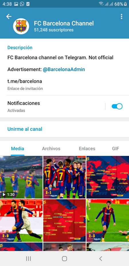 FC Barcelona Channel