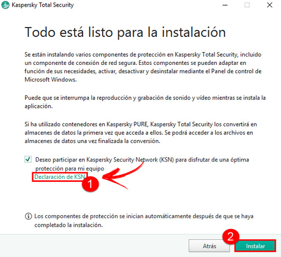 Install Kasperspy Security Network
