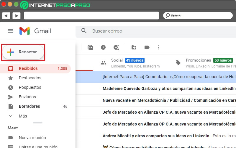 compose gmail email
