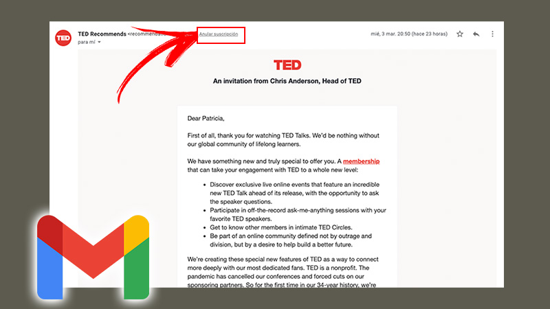 We show you step by step how to suspend newsletter subscriptions and mass emails from your Gmail account