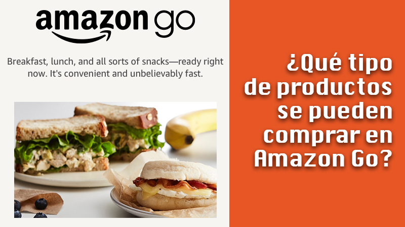What kinds of products can be purchased on Amazon Go?