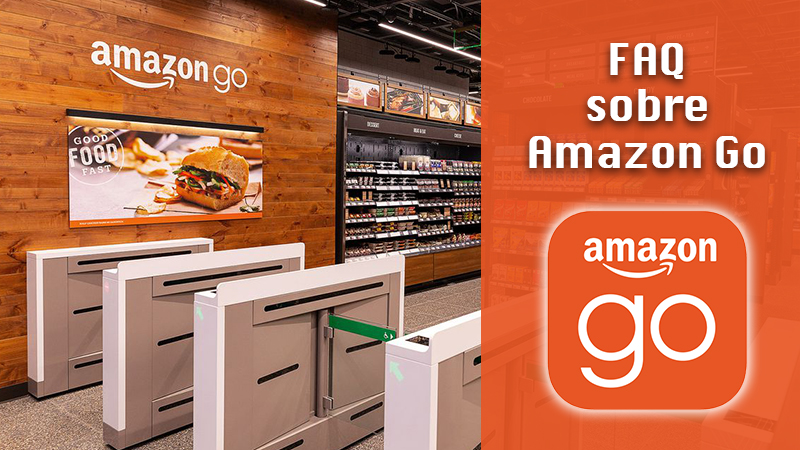 FAQ about Amazon Go;  at IPAP we answer the most common questions and answers