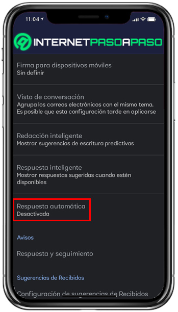 Mobile Automatic answer selection