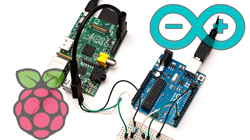 Can Arduino and Raspberry Pi be used in the same development project?