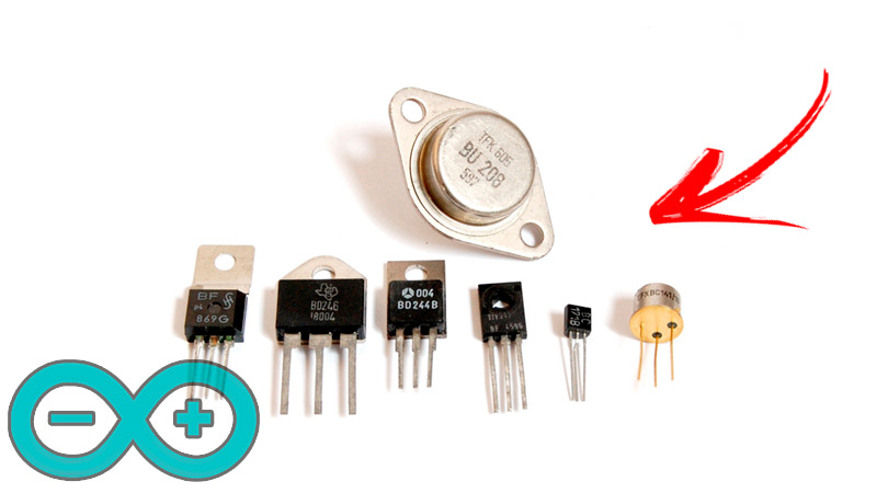 Types of transistors What are all those that exist and how do they differ?