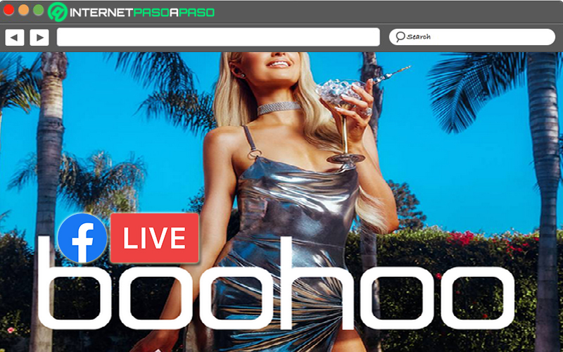 The Boohoo Facebook Live contest