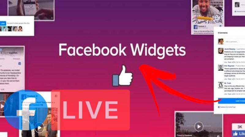 Facebook page widget