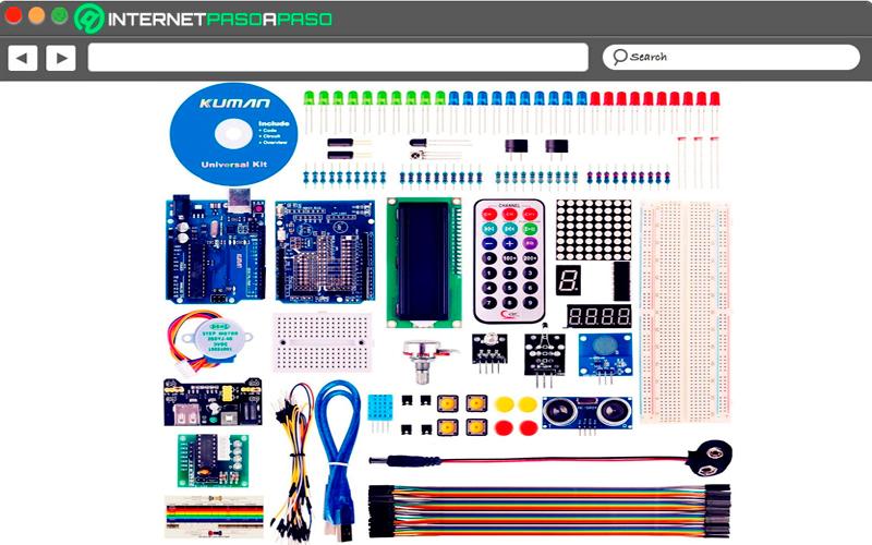 Kit for Arduino Kuman K4-UK