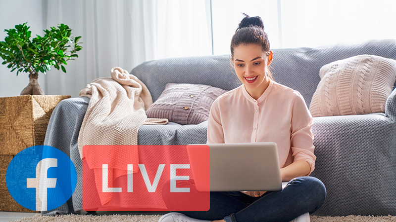 What are the benefits of embedding your Facebook Live broadcasts on your website?