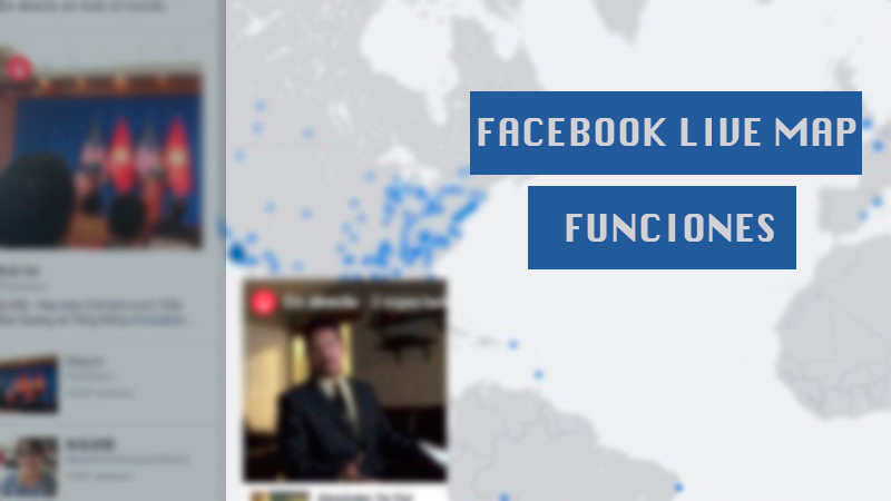 What was Facebook Live Map and what was this function of the Streaming platform for?