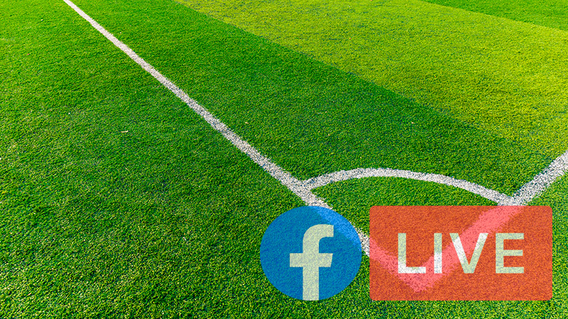 Facebook and sports With which soccer leagues does Facebook have an agreement to broadcast matches on FB Live?