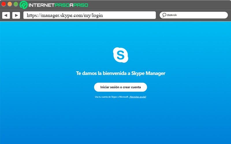 Skype account creation